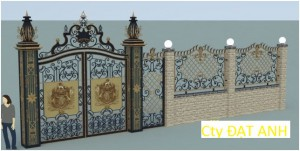 Cửa cổng biệt thự