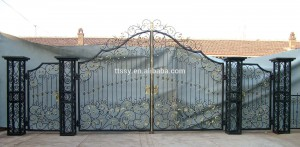 cổng biệt thự châu âu