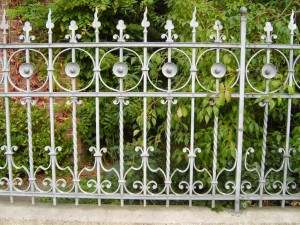 hình ảnh hàng rào sắt đẹp