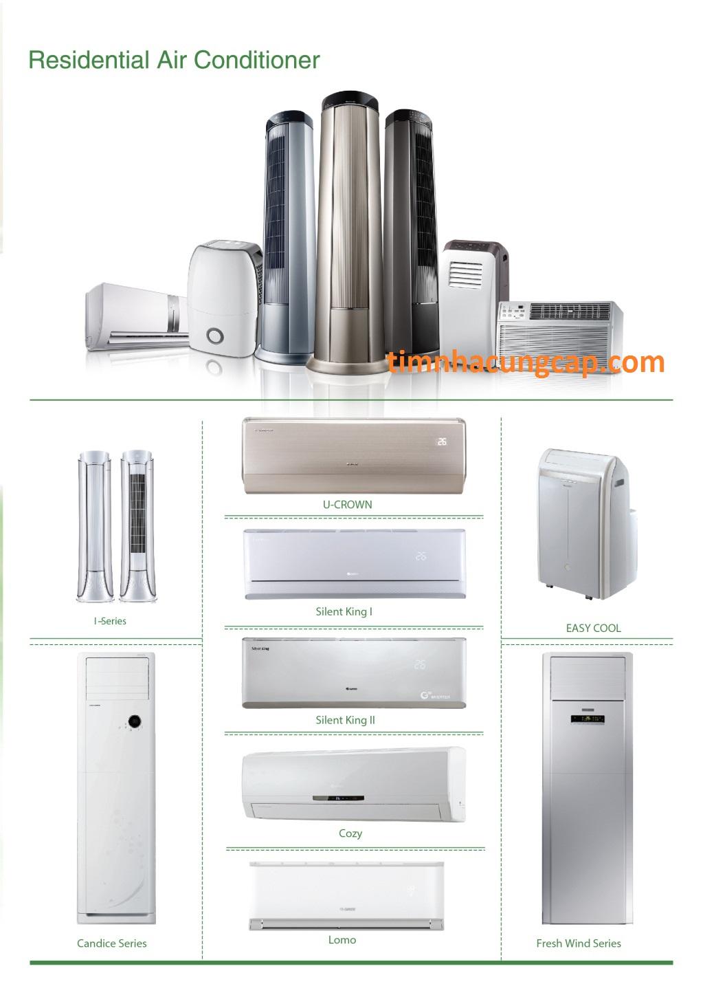 Tìm nhà cung cấp máy lạnh dự án