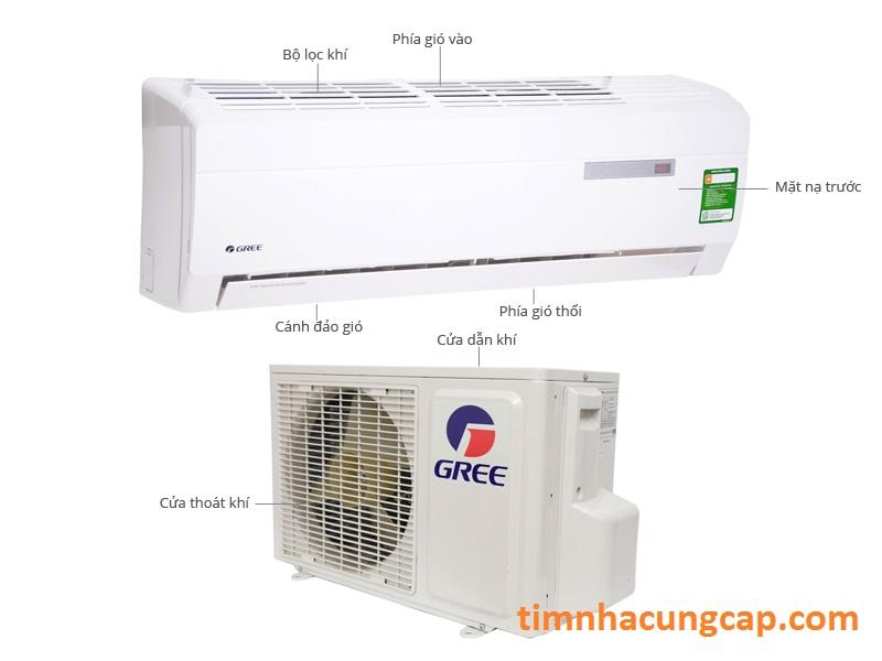 cung cấp máy lạnh gree