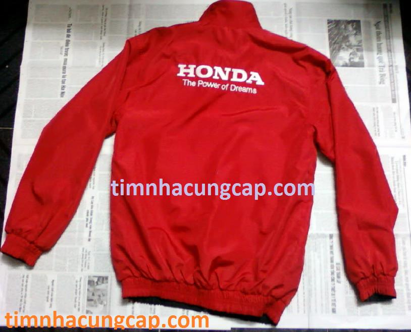Cung cấp áo khoác hãng xe Honda Yamaha