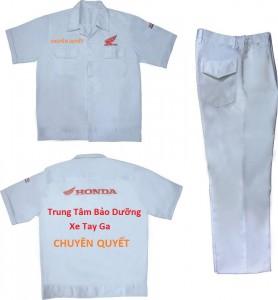 cung cấp quần áo thợ sửa chữa xe máy