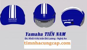 Nón bảo hiểm in logo Biên Hoà Đồng Nai