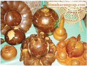 Cung cấp các sản phẩm mỹ nghệ từ dừa