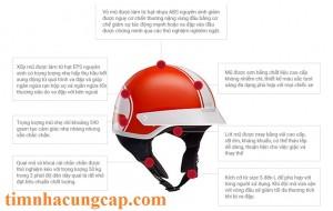 Cung cấp nón bảo hiểm honda